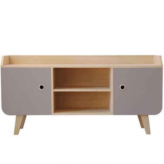 Sideboard Buffet Zen by Laurette taupe
