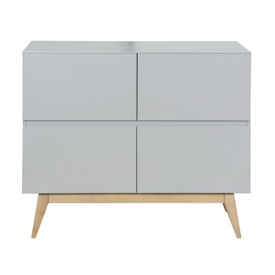 Quax Trendy Kommode 110 x 90 cm, Griffin Grey