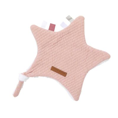 Little Dutch Kuscheltuch Stern Pure Pink