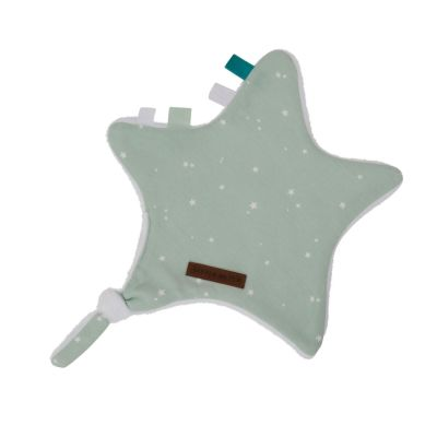 Little Dutch Schnuffeltuch Stern Little Stars Mint