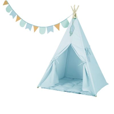 Little Dutch Spielzelt Tipi Hellblau