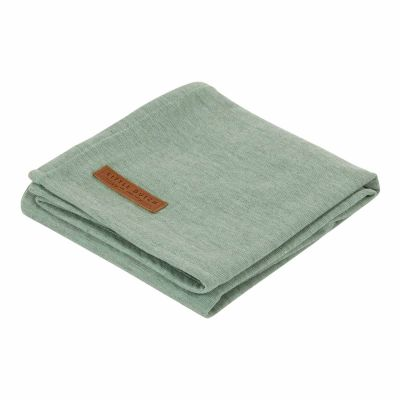 Little Dutch Pucktuch Pure Mint 120x120 cm