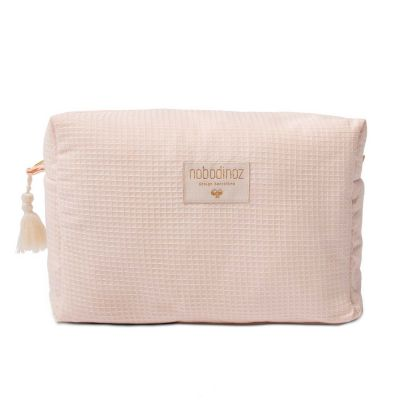 Nobodinoz Kulturtasche Honey Comb Dream Pink