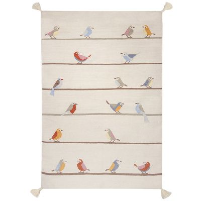 Art For Kids Teppich Kilim Birds