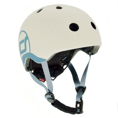 Scoot and Ride Fahrradhelm XX-S, Ash