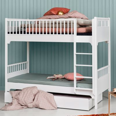 Oliver Furniture Etagenbett Stockbett Seaside Collection mit gerader Leiter