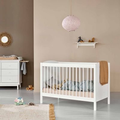 Oliver Furniture Seaside Lille+ Basic Bett (0 - 9 Jahre), 134/174x74x92/63,5 cm