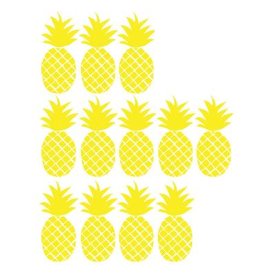 MIMI'lou Wandtattoo Just a Touch Ananas