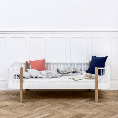 Oliver Furniture Bettsofa Tagesbett Wood Collection Eiche 90x200 cm