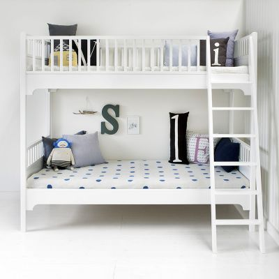 Oliver Furniture Etagenbett Stockbett Seaside Collection mit schräger Leiter