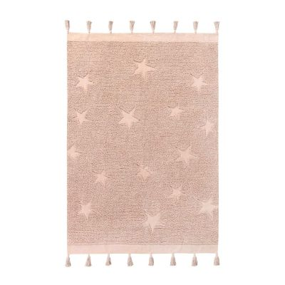 Lorena Canals Teppich Hippy Stars Vintage Nude