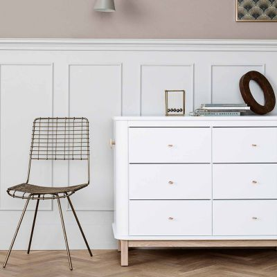 Oliver Furniture Wood Kommode 6 Schubladen Eiche